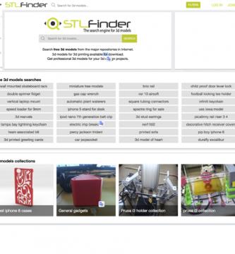Buscador de archivos 3d Stlfinder